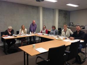 One of the workshops we held in Vasse / Busselton