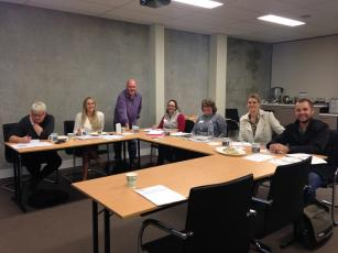 One of the workshops we held in Vasse / Busselton